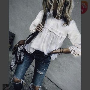 Tops - Lace Detail Top